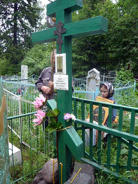 предполагаемое место захоронения св. Даниила Ачинского